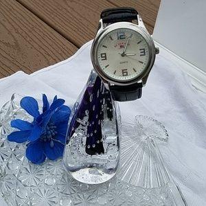 U. S. Polo men's quartz watch